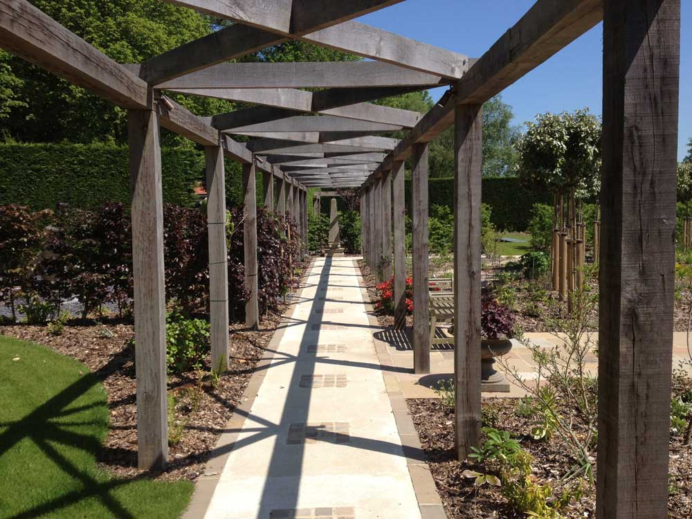Over The Garden Walk: Pergolas & Arbours