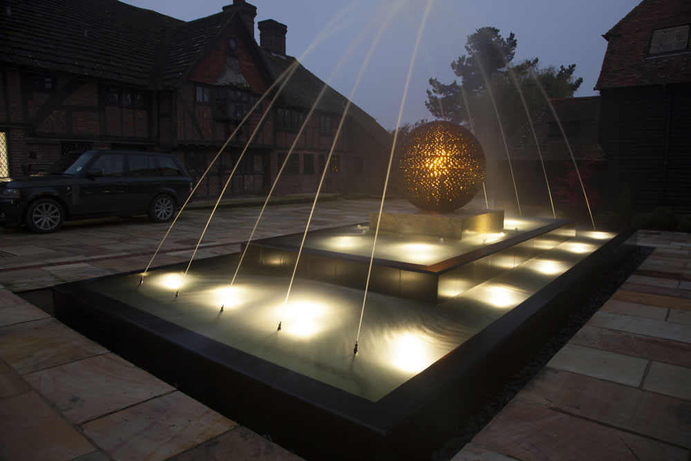 West sussex water feature
