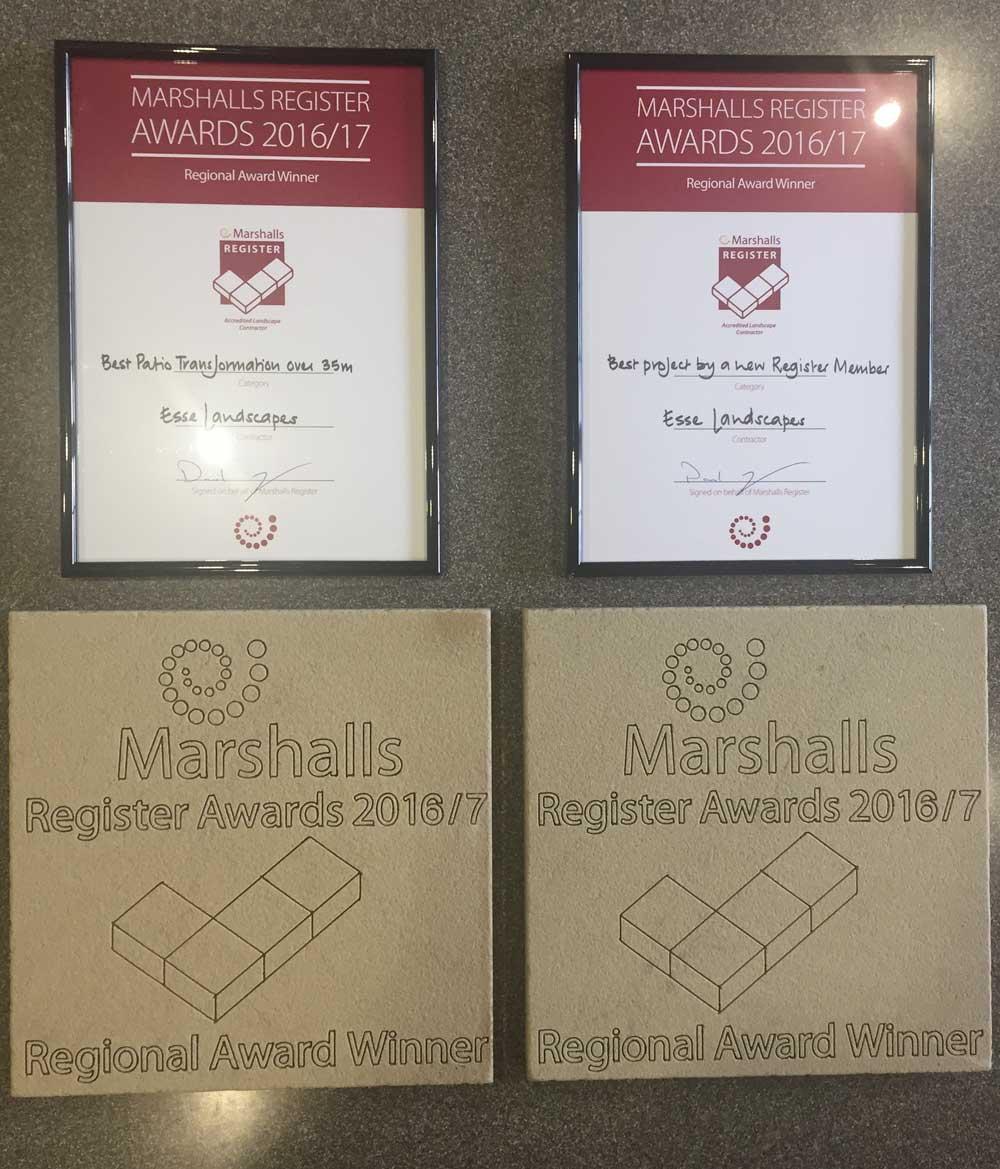 Marshalls Award Winner