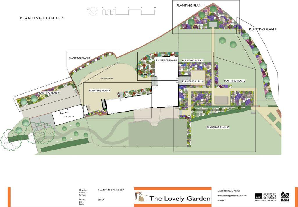Sussex Barn Garden Design