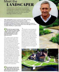 Meet the Landscaper – Dream Garden Magazine July 2021