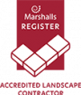 Marshalls Accredited Contractor Logo May 2021